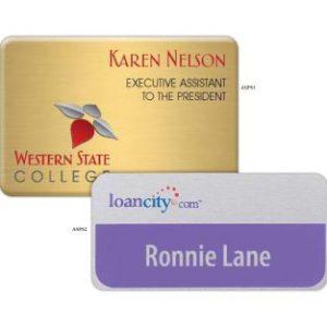 Aspen Name Badge